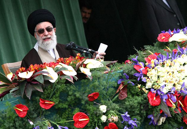 New Beginning? Iranian supreme leader Ayatollah Ali Khamenei addresses thousands of Iranians a day after President Obama issued a call for engagement with the long-time adversary.