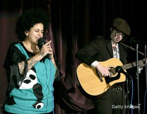 Honest Refrain: Kimya Dawson and Adam Green (aka The Moldy Peaches) performed at the premiere of 'Juno.' The movie's top-selling soundtrack featured a number of songs written by Dawson.
