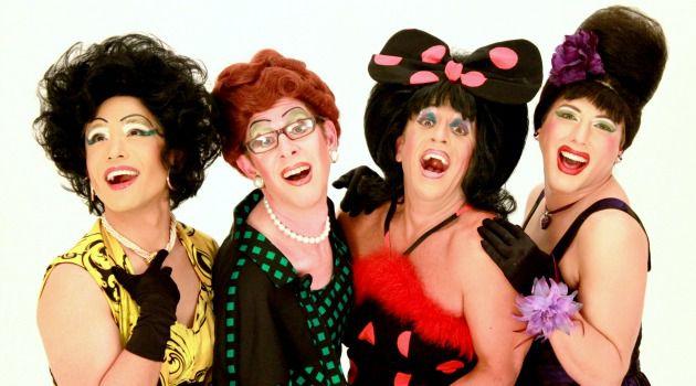 Berle-Esque:  The Kinsey Sicks label themselves as a ?Dragapella Beauty Shop Quartet.?