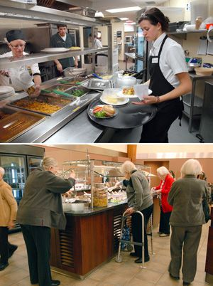 Dinner Time: This month, Martins Run, a Jewish assisted-living facility in suburban Philadelphia,will stop serving kosher food to its residents.