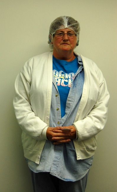 Veteran: Peggy Delancey has worked at the Empire Factory for 33 years. (Photo by Nathaniel Popper)