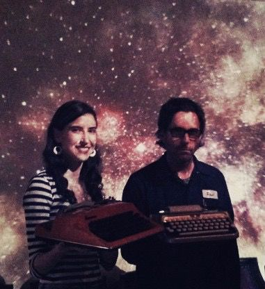Kathleen Rooney and Eric Plattner have been writing poems for strangers together for the last 5 years.