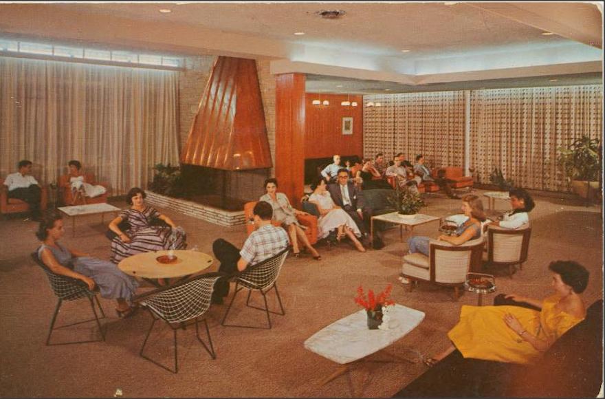 Postcard showing Kutsher's Hotel in 1955.