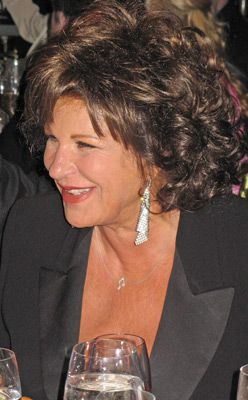 On Stage: Lainie Kazan performed at the event.