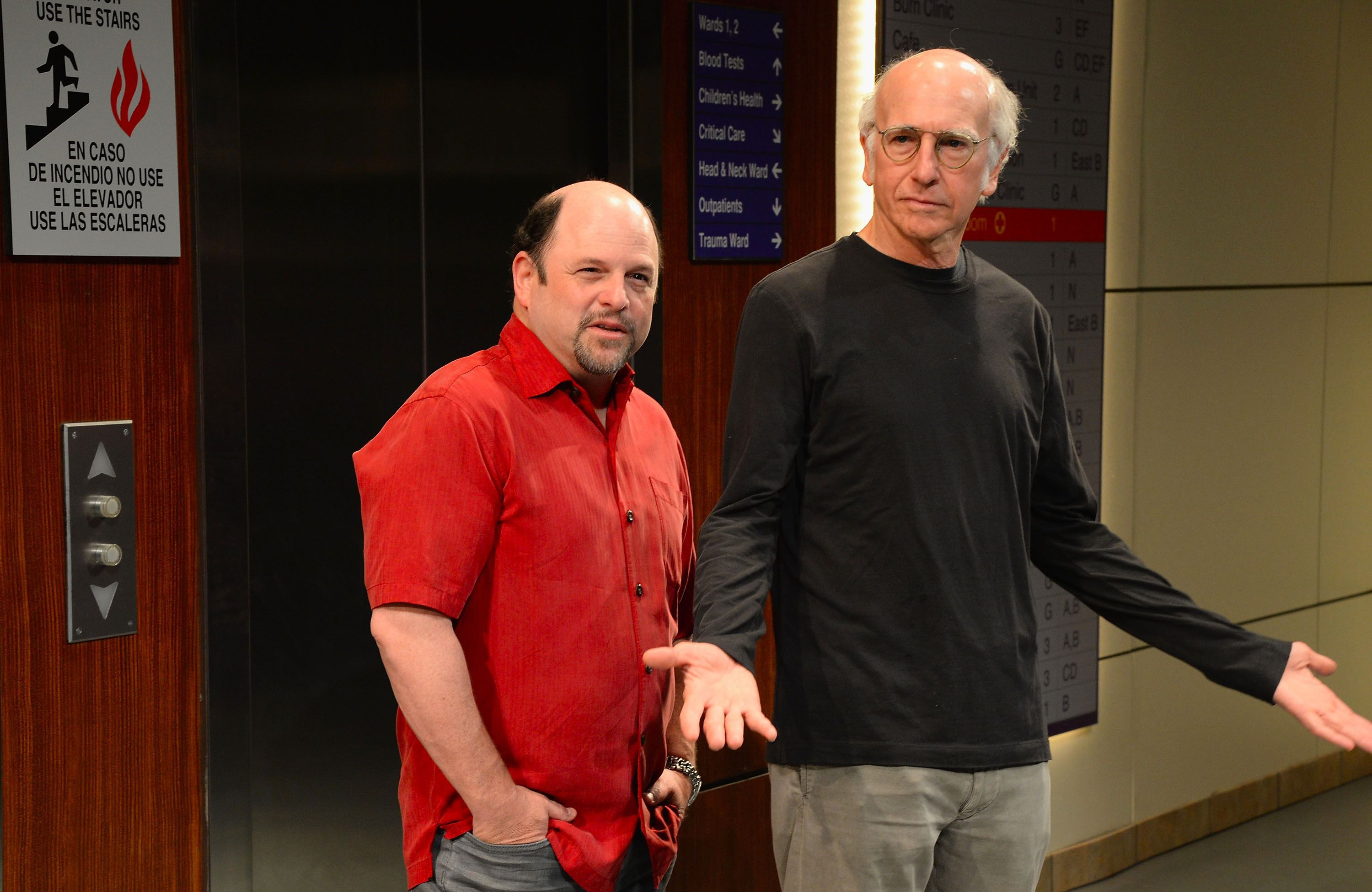 Larry David and Jason Alexander