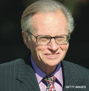 TALKING POINTS: Larry King cracked jokes at the book party.