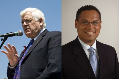 Lift Restrictions: Reps. Jim McDermott (left) and Keith Ellison sponsored effort to ease blockade on movement of civilian goods.