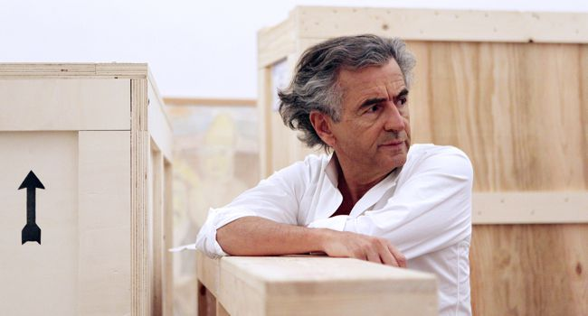Center of Attention:  Bernard Henri-Lévy has made himself into a crusader for human rights with an outsized influence.