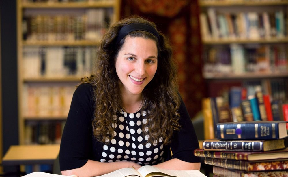 Trailblazing Orthodox rabbi Lila Kagedan.