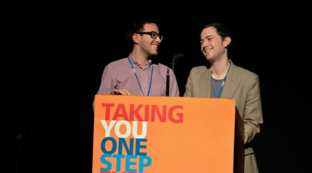 Under 30: The young co-chairs of Limmud UK.