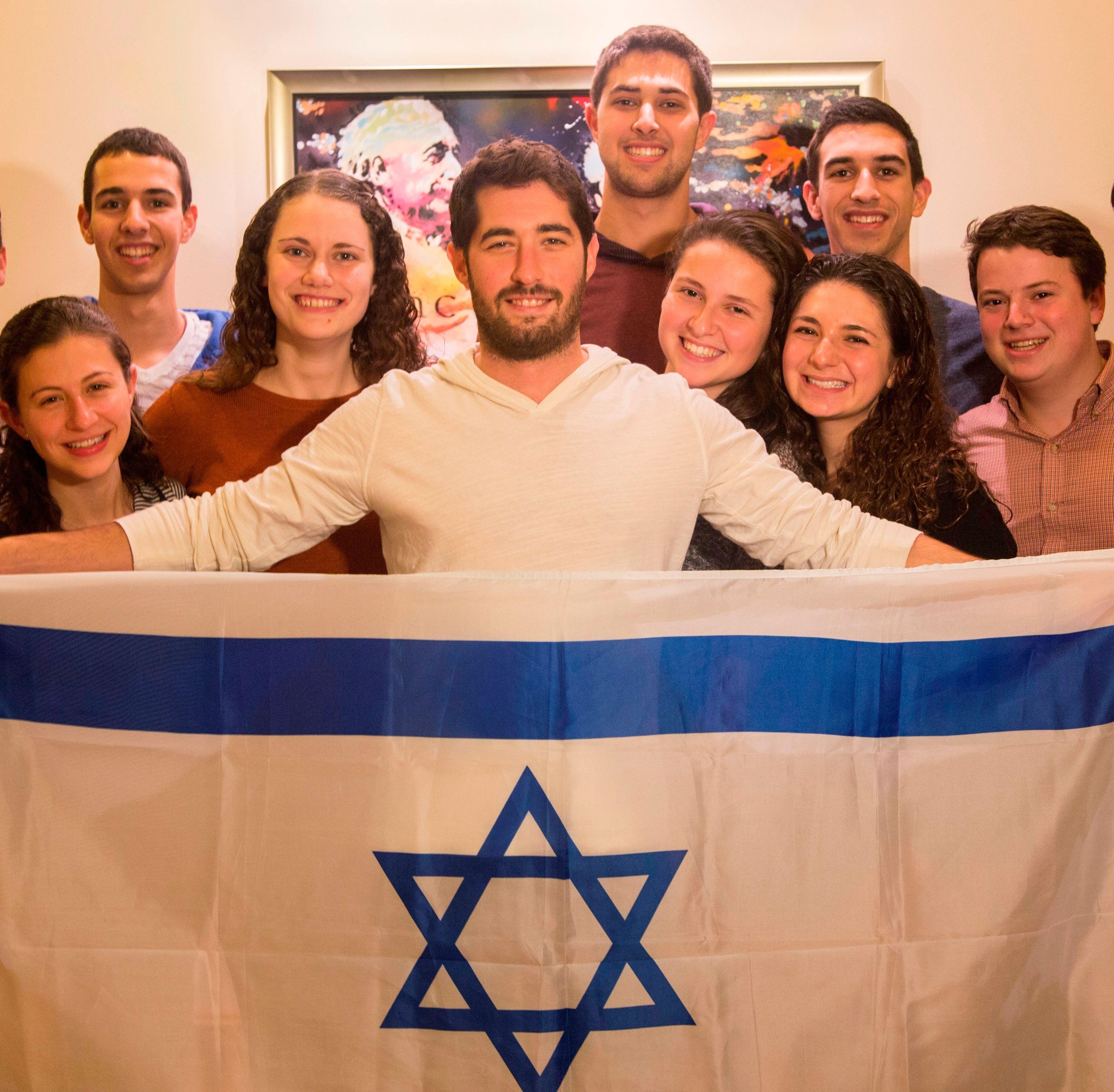 Jewish students at Princeton University.