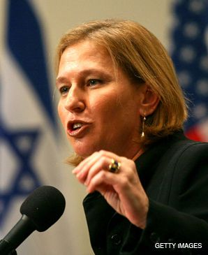LIVNI: Front-runner for party leadership.