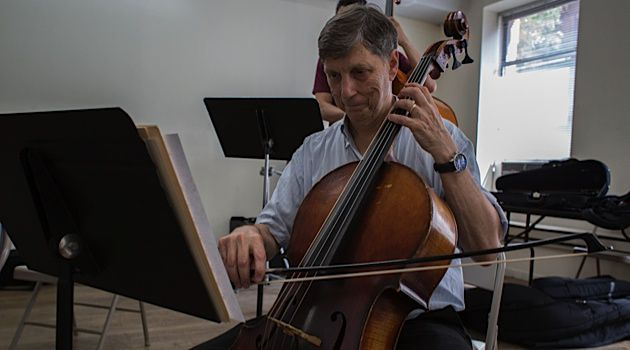Good as Goldman: Ari Goldman recounts his struggles in returning to cello in his book 'The Late Starters Orchestra.'