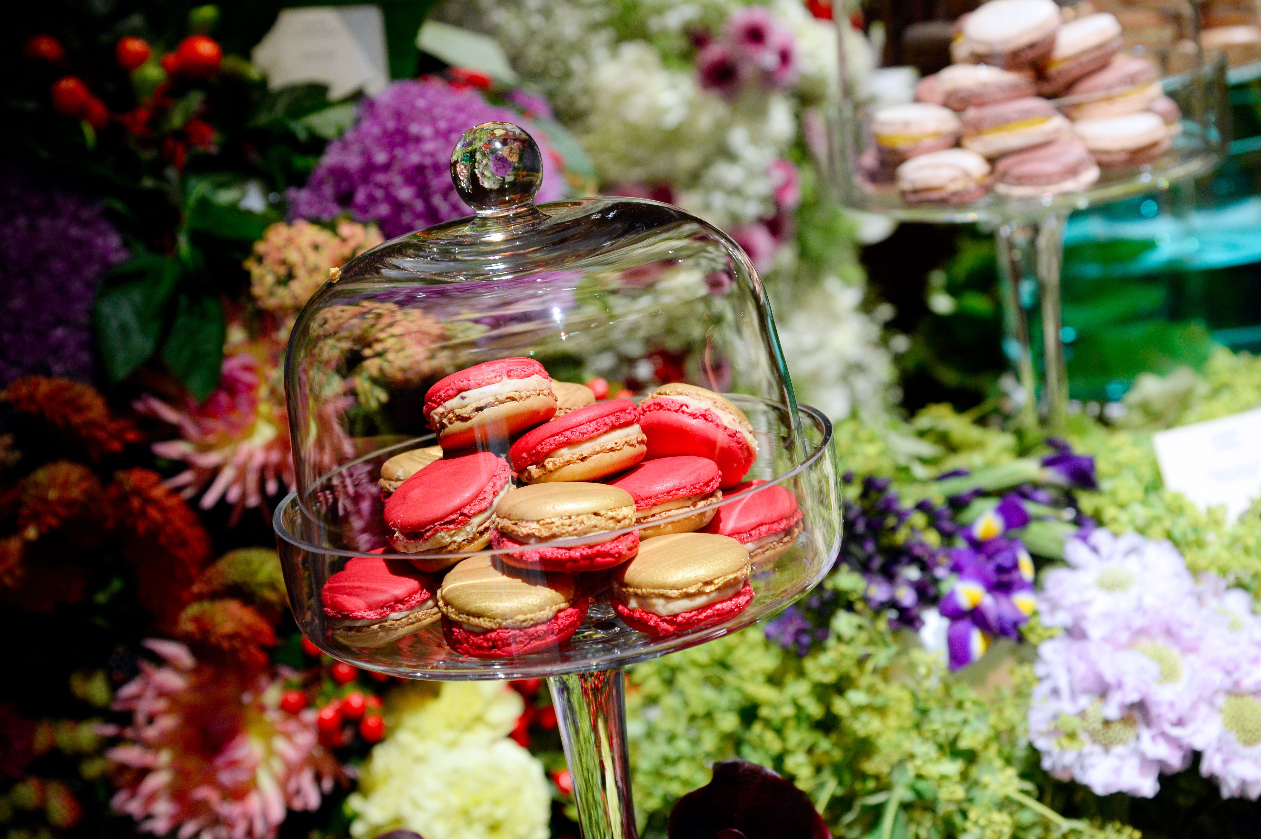 French macarons. In Paris. Le sigh.
