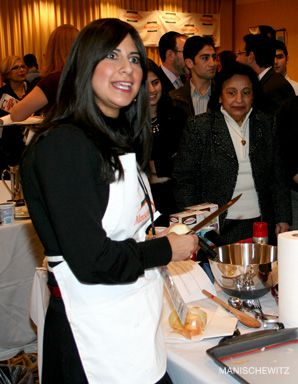 Sharp Skills: Joy Devor won the Simply Manischewitz Cook-Off.