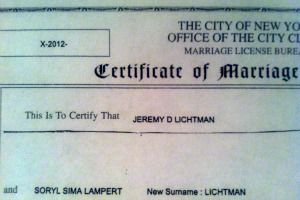 Simi had no hesitation in taking Jeremy?s last name.