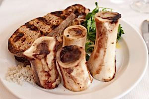 We hear the bone marrow appetizer is pretty darn tasty!