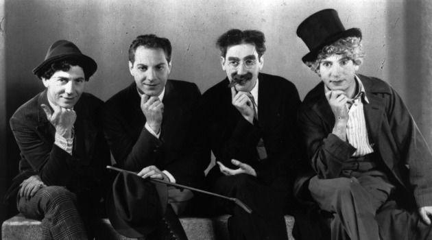 What?s So Jewish About Them? The Marx Brothers are some of many Jewish jokesters name-checked in Ruth Wisse?s study. But there wasn?t all that much in the way of ethnic particularity in their routines.