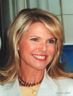 COVER GIRL: Christie Brinkley spoke at the event.