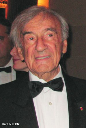 GUEST OF HONOR: Elie Wiesel?s 80th birthday was celebrated.