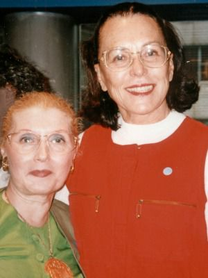 Masha Leon and Bess Myerson, 1993