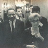 Martin Luther King Jr. and Masha Leon