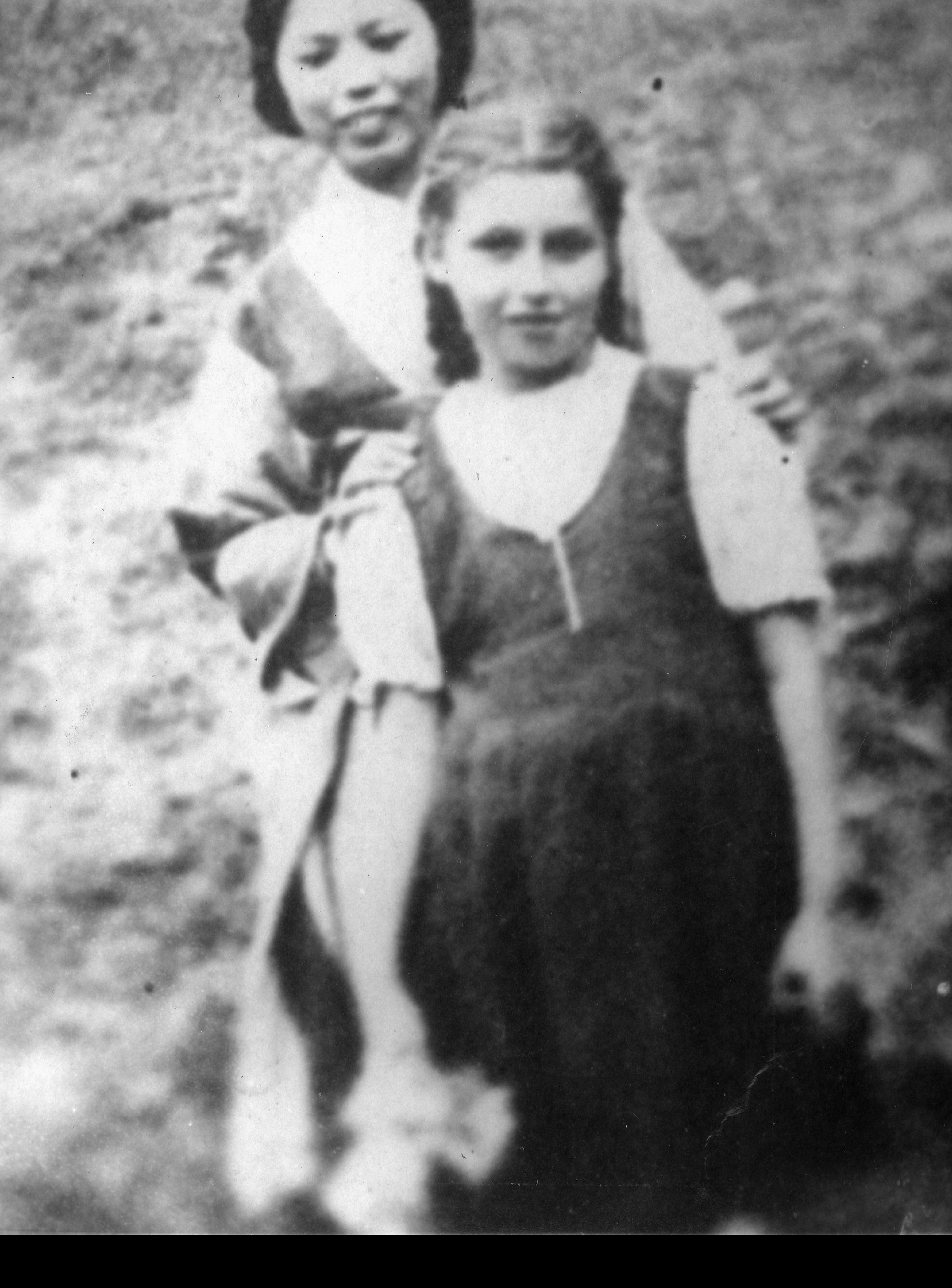 Masha Leon in Kobe, Japan in 1941.
