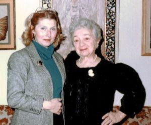 Masha Leon and Molly Picon