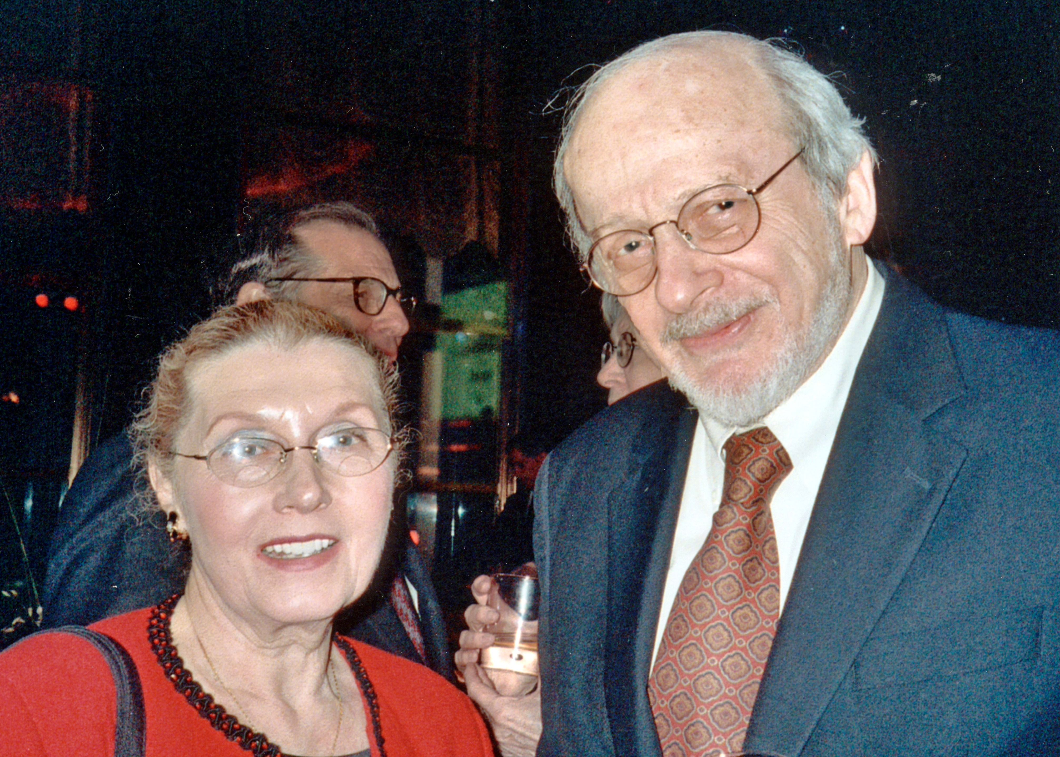 Masha Leon and E.L. Doctorow in 2006