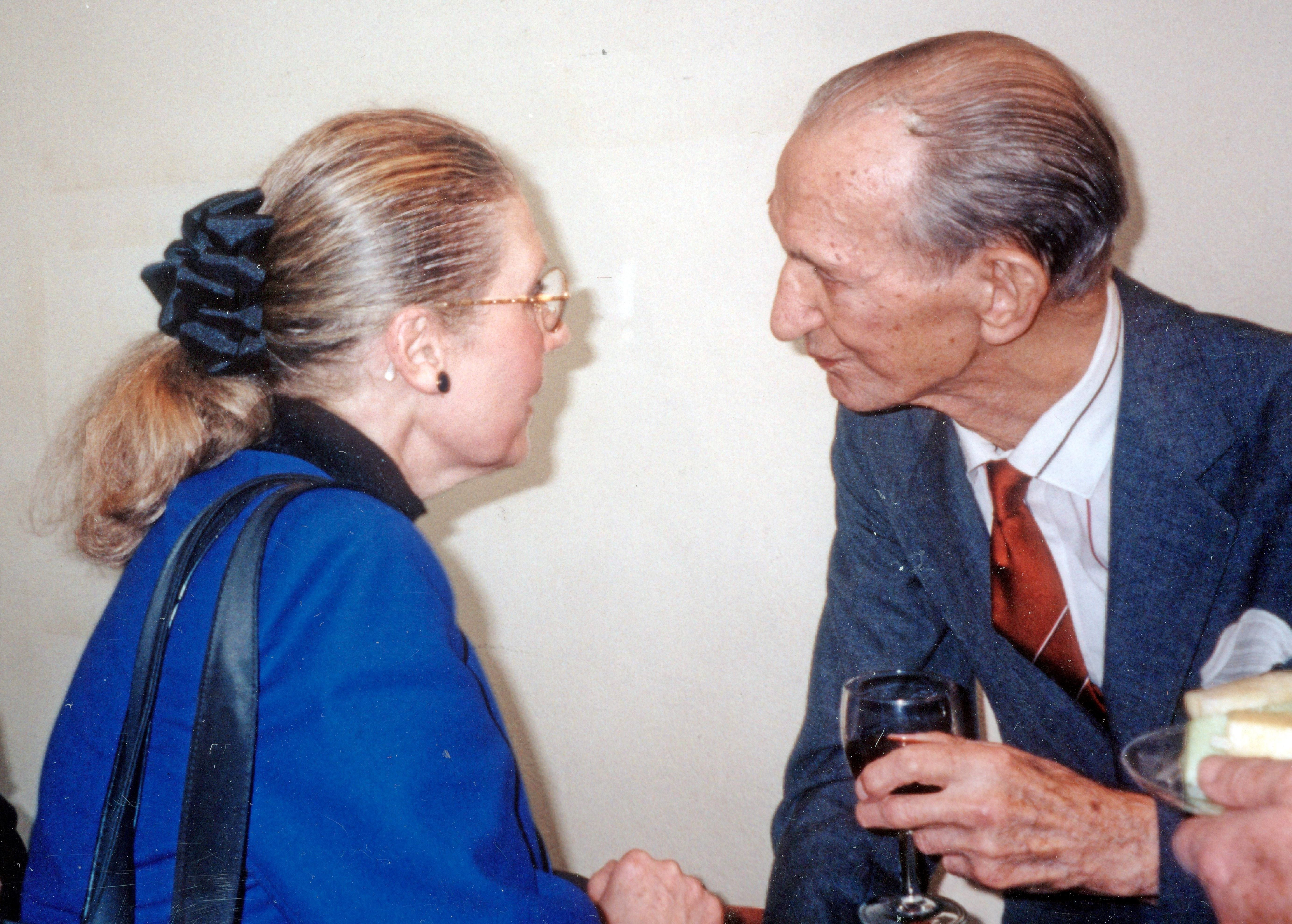 Jan Karski and Masha Leon