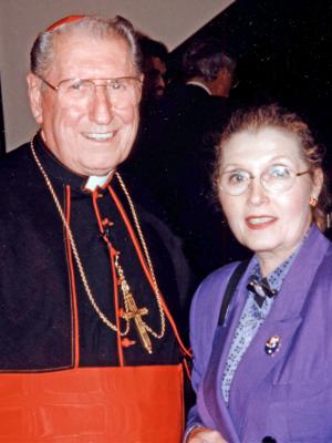 Cardinal O'Connor, Masha Leon.