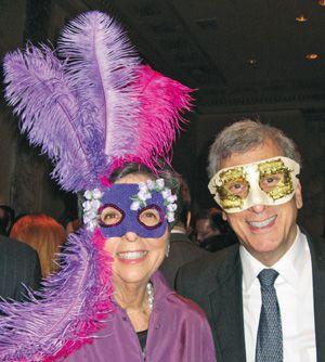 Unmasked: Francine Klagsbrun and Arnold Eisen.