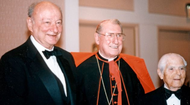 Ed Koch, Cardinal O'Connor and Abe Beame.