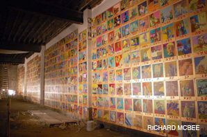 GRAND GESTURE: Archie Rand?s work of art, ?The 613,? depicts all the commandments of the Torah.