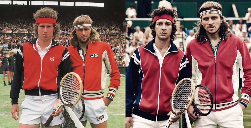 "Starring Shia LeBeouf as John McEnroe and Sverrir Gudnason as Björn Borg, ""Borg/McEnroe"" details the fierce tennis rivalry that captivated the world in the 1980 Wimbledon Championships."