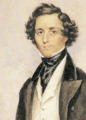 Wealthy and Talented: Felix Mendelssohn had wealth on both sides of his family, but also surprising erudition on both sides too.