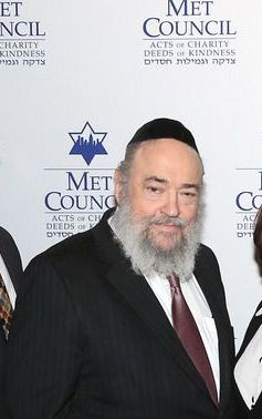 Heshy Jacob at a Met Council event in 2013.