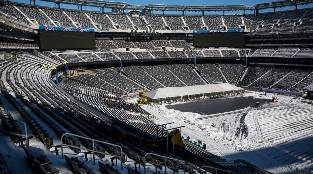 Crowd Control: With an 82,000 seat capacity, MetLife even has prayer areas for those in search of a minyan.