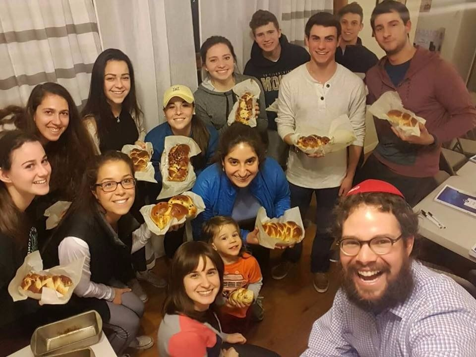 Jewish students at Miami University in Ohio