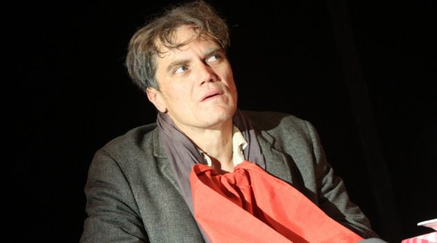 "Shamblng Everyman: Michael Shannon does not play the titular character in Theater For a New Audience's revival of Eugene Ionesco's ""The Killer"" at the Polonsky Shakespeare Center."