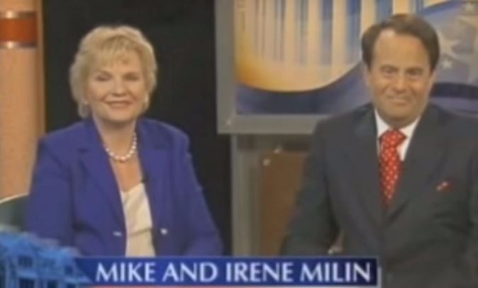 Mike and Irene Milin in an ad for the National Grants Conferences.