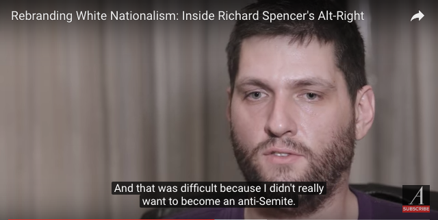 "Anti-Semitism is hard to resist, says this ally of white nationalist Richard Spencer, whose nom de YouTube is ""Millennial Woes."""