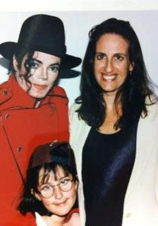 MJ with Akasha Richmond and her daughter.
