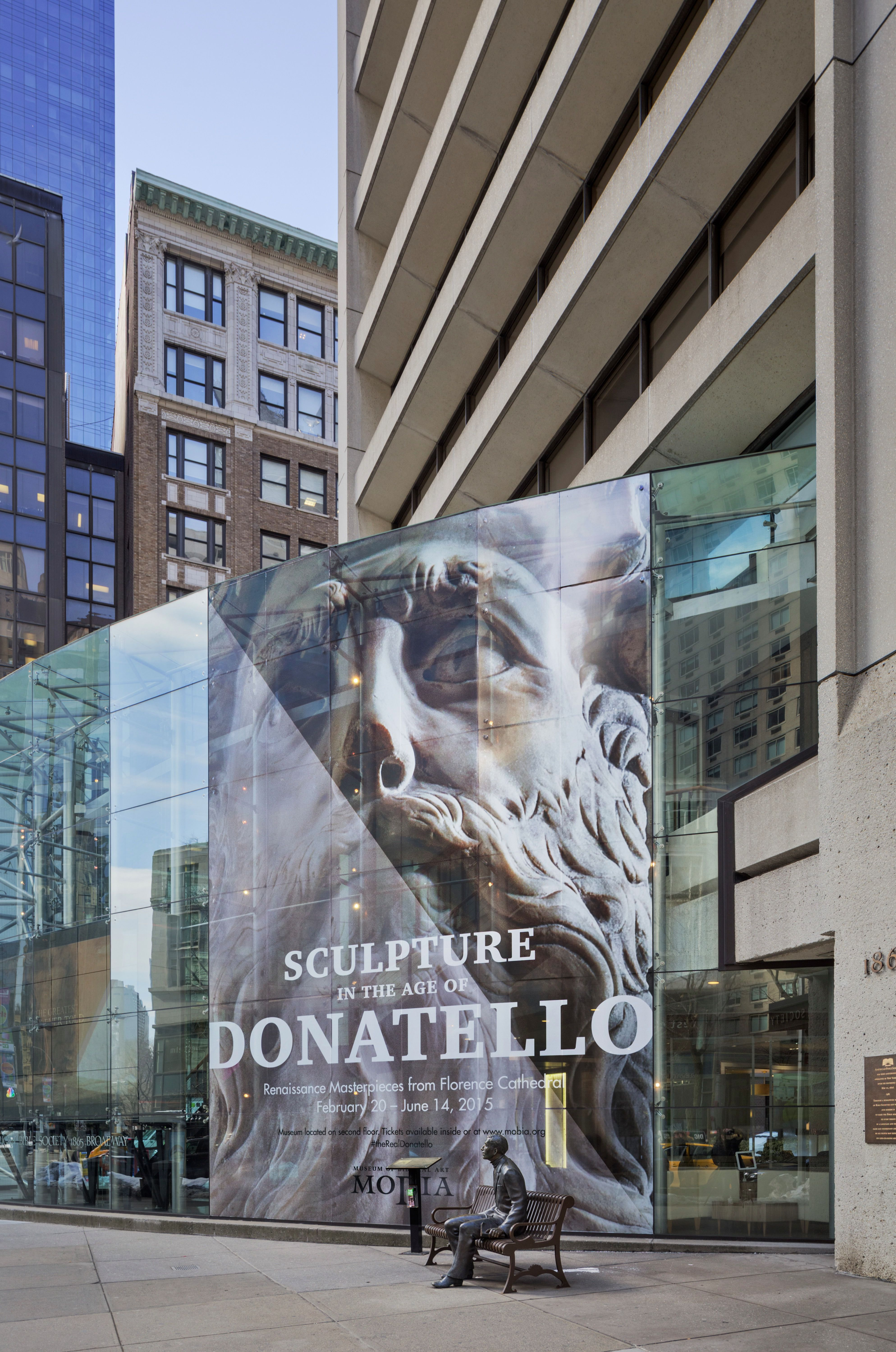 The Last Exhibit: Installation view of 'Sculpture in the Age of Donatello: Renaissance Masterpieces from Florence Cathedral,' the current — and last — show at the Museum of Biblical Art.