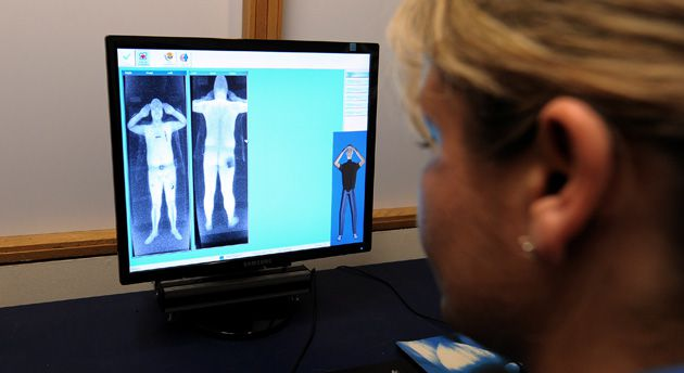 Immodest? Religious leaders are concerned that whole-body imaging machines may show too much.