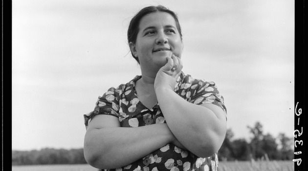 Jewish Mother: Dorothea Lange snapped this 1936 photo of ?Mrs. Cohen,? the wife of a Jewish farm manager.
