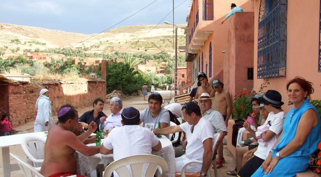 Holy Trip: Around 75 people traveled to the Dra?a area for the yearly ritual.