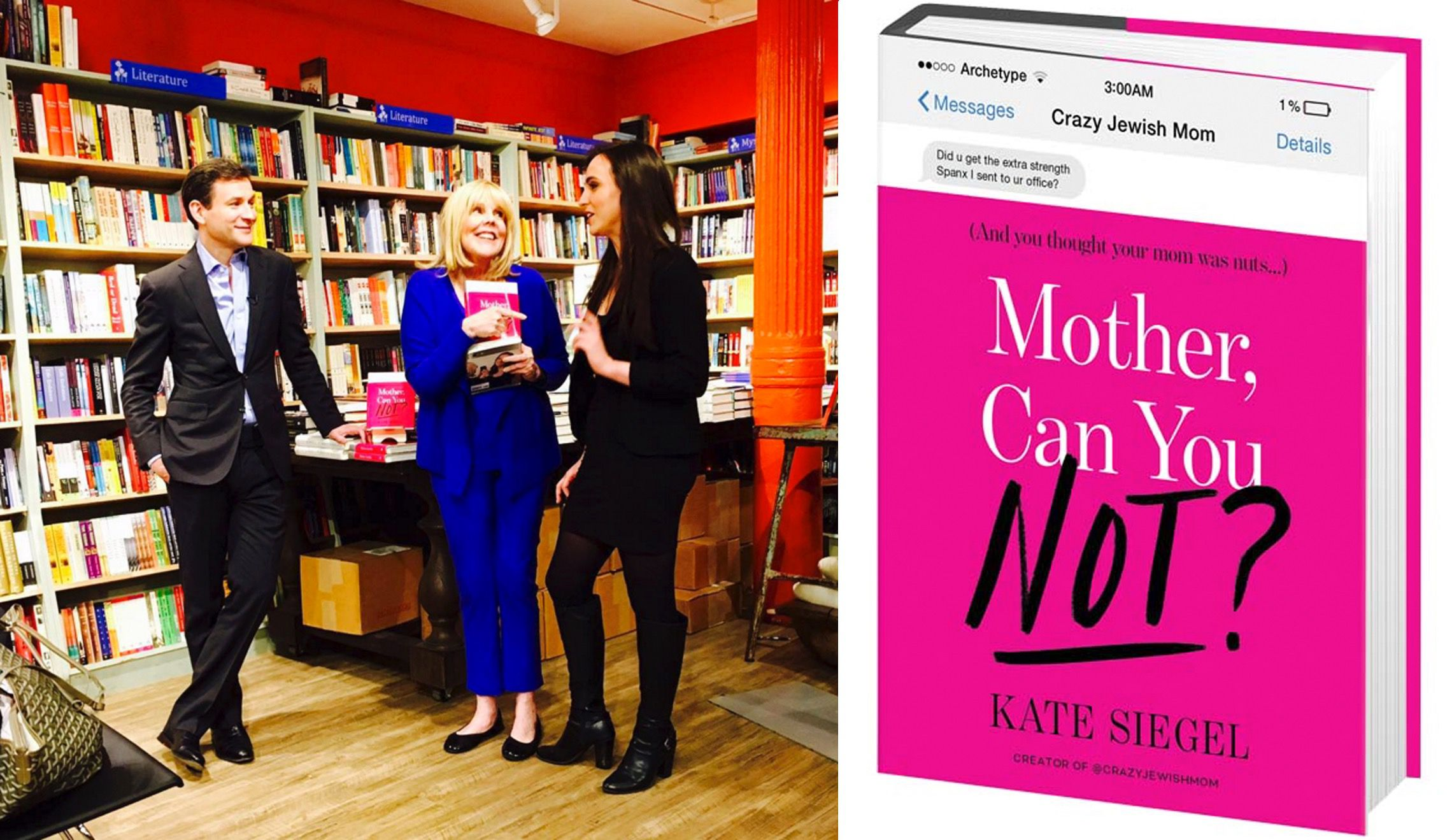 "Like many social media phenoms before it, ""Crazy Jewish Mom"" has become a book."