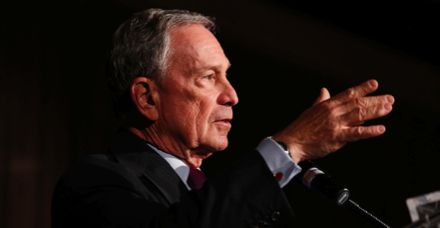 Michael Bloomberg won what prize this week?