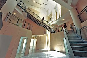 Upstairs, Downstairs: Israel?s Ashdod Museum opened in 2003.